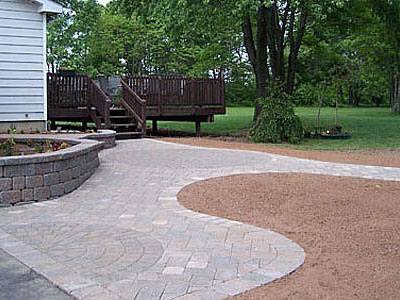 Paver Walkways Moss Landscaping