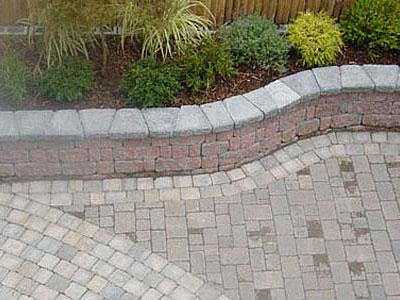 Raised Patios Branchburg Middle Nj, Brick Patio Retaining Wall Ideas